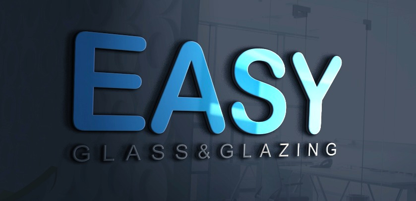 3d easy glass logo