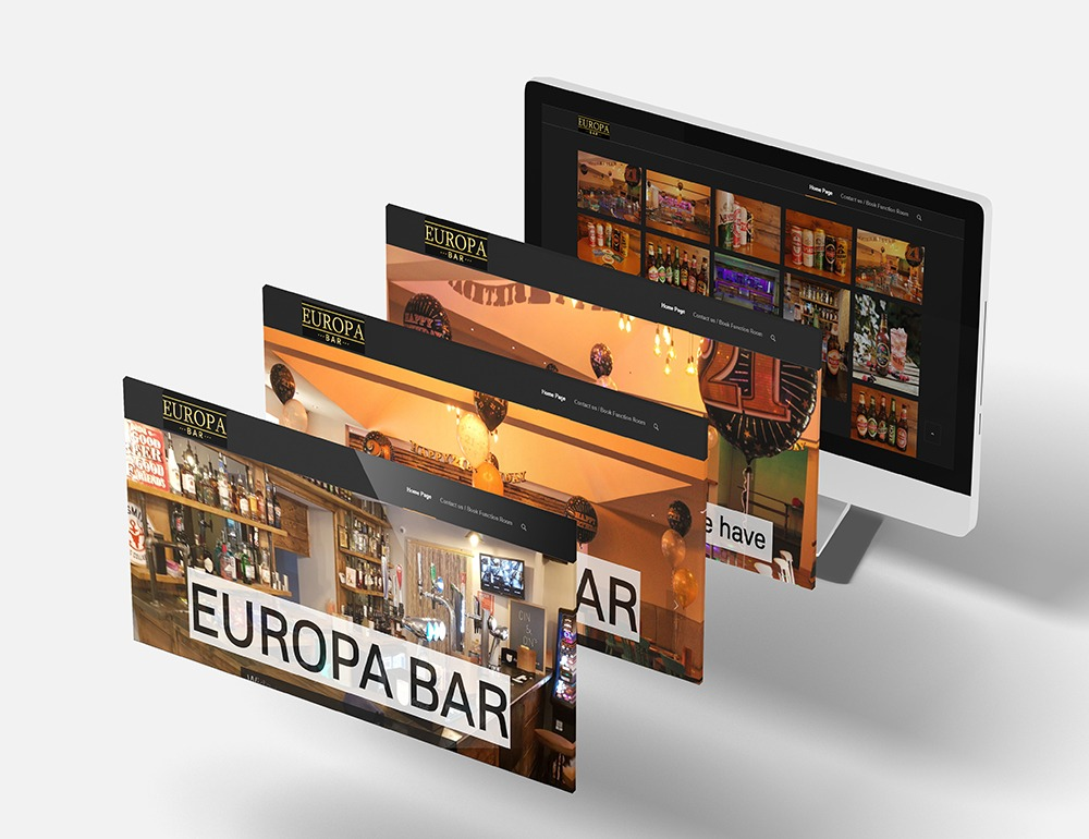 europa bar Responsive Web Design