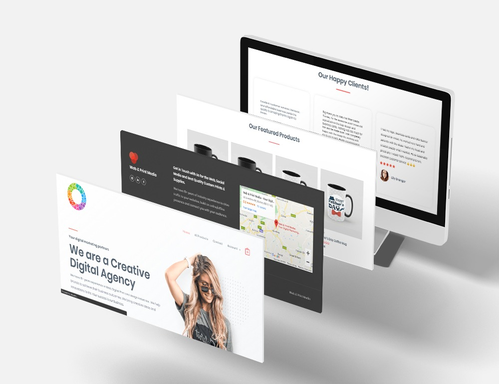 creative digital agency website