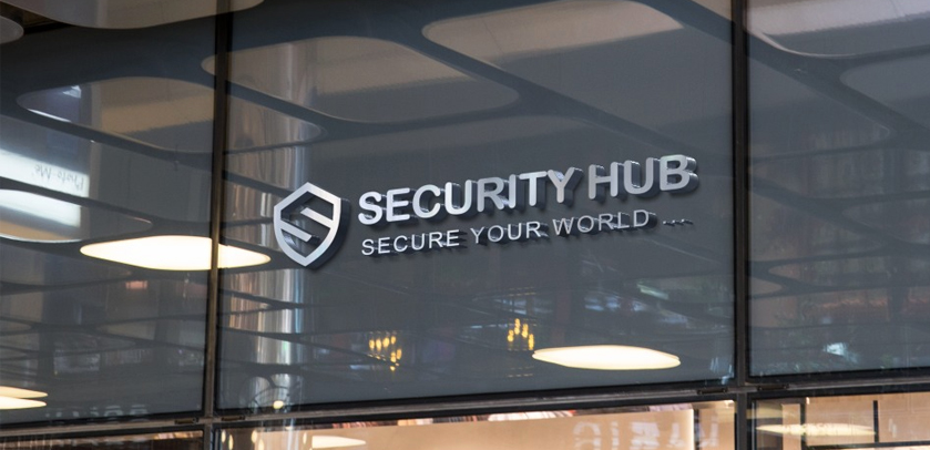 3D security hub logo